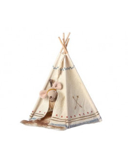 Little feather w.tent, little sister mouse