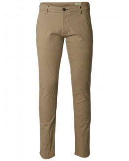 SLHStraight-Paris Greige Pants W Noos