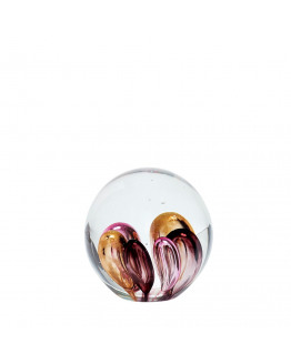 Paperweight glass 9cm
