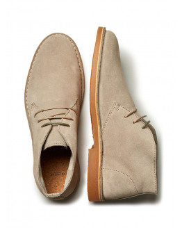 SHHROYCE LIGHT SUEDE BOOT NEW