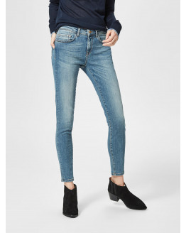 SFIDA MW CROPPED JEANS BLUE WATER NOOS