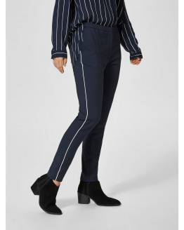 SFMUSE PIPING MW CROPPED PANT
