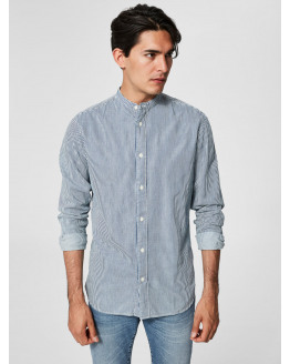 SLHSlimnolan-China Shirt LS Mix