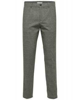 SLHTAPERED-CALEB CHECK PANTS