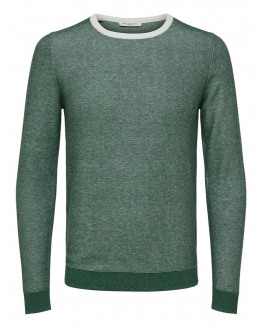 SLHBRAN BLOCKING CREW NECK W