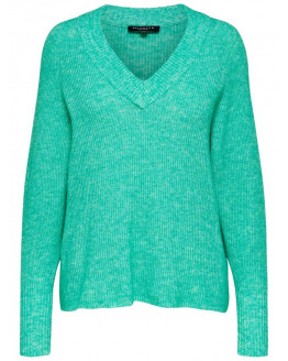 SLFRIKA LS KNIT V-NECK B