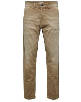 SLHTAPERED-NICO 6152 SAND PANTS W