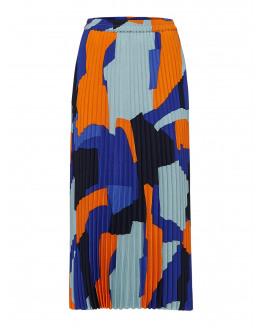 SLFAndrea Mw Midi Plisse Skirt Ex