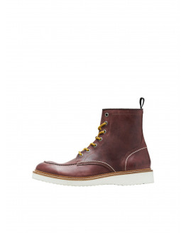 SLHTEO LEATHER MOC-TOE BOOT W