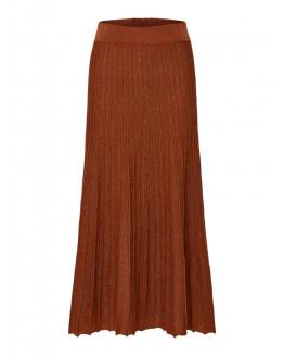 SLFZamba Midi Lurex Knit Skirt B