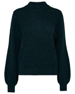 SLFAnna Ls X-Mas Knit O-Neck B