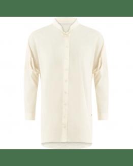 Shirt w. round neck
