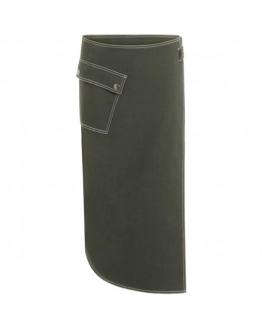 Skirt w. wrap around look w. pocket