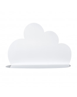 Cloud Shelf Metal White L60xH40xW15 cm