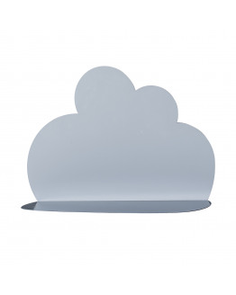 Cloud Shelf Metal Blue L40xH30xW12 cm