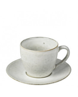 CUP W/SAUSER NORDIC SAND