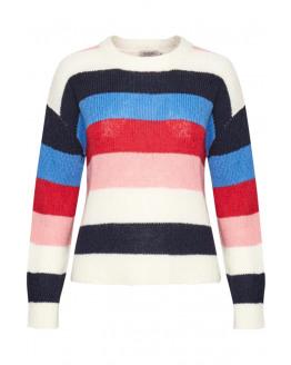 Frida Striped Pullover LS
