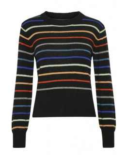 SLLisa Striped Pullover LS