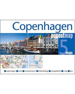 Copenhagen Popout Map.