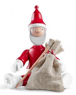 Santa Claus Painted beech