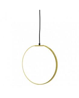 Pendant Lamp Gold Metal 35cm