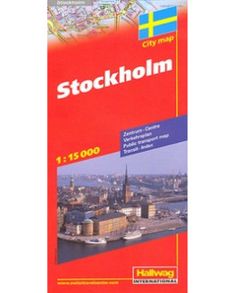 Stockholm CityMap hallwag r/v (r) wp