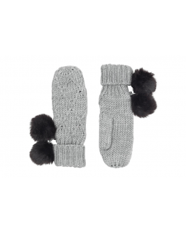 Square Knitted Mittens