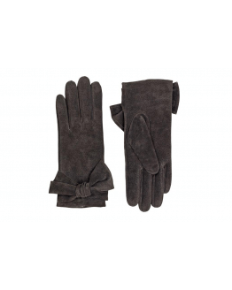 Leather Glove with Bow
