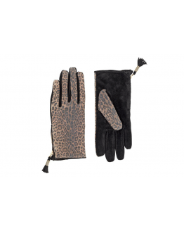 Animal Suede Glove