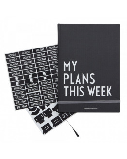 My plans this week Black