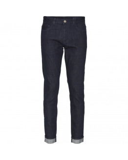 ASH blue rinse selvedge denim - GOTS/Vegan