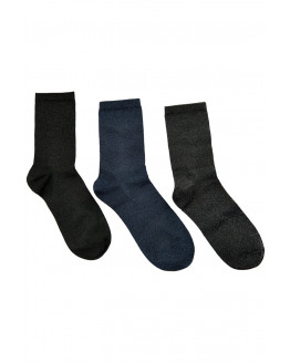 Kingcity 3-Pack Glitter Socks