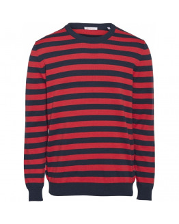 FORREST o-neck striped knit - GOTS/Vegan