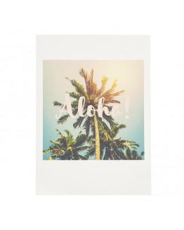Aloha laminated postcard 81869