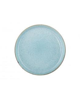 Plate D27cm grey/light blue
