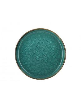 Plate D27cm green/green