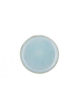 Plate D21cm grey/light blue