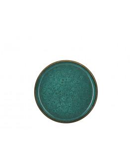 Plate D21cm green/green