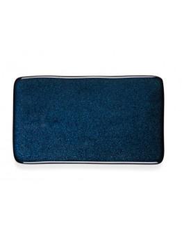 Side Plate 22x12,8cm dark blue