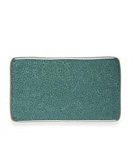 Side Plate 22x12,8cm green