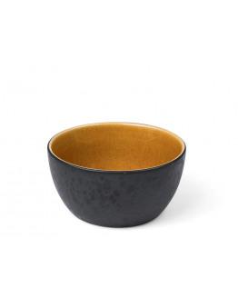 Bowl D14cm black/amber