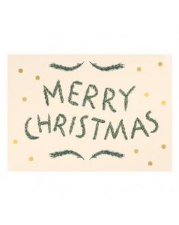 Merry Christmas AW 2019 Postcard