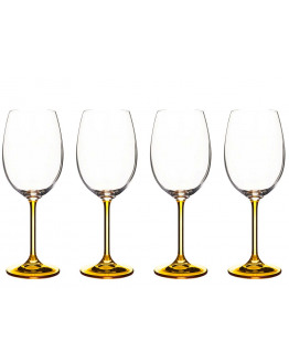 Wine glass 45cl amber crystal 4 pcs.