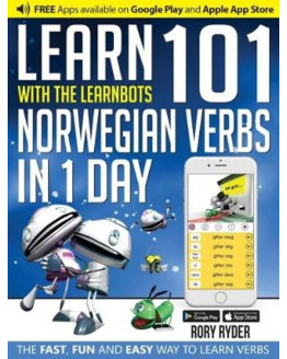 Learnbots Learn 101 Norwegian Verbs in 1 Day with the Learnbots