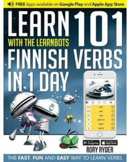Learnbots Learn 101 Finnish Verbs in 1 Day with the Learnbots