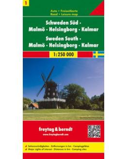 Zweden Zuid - Malmo / Helsingborg / Kalmar