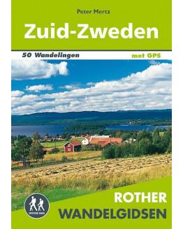 Zweden Zuid wandelgids 50 wandelingen met GPS ROTHN