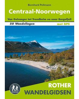 Noorwegen Centraal wandelgids 50 wandelingen met GPS ROTHN