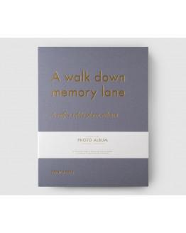 Photo Album A Walk Down Memory Lane