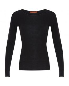 Long sleeve T-shirt w. wool (Basic)